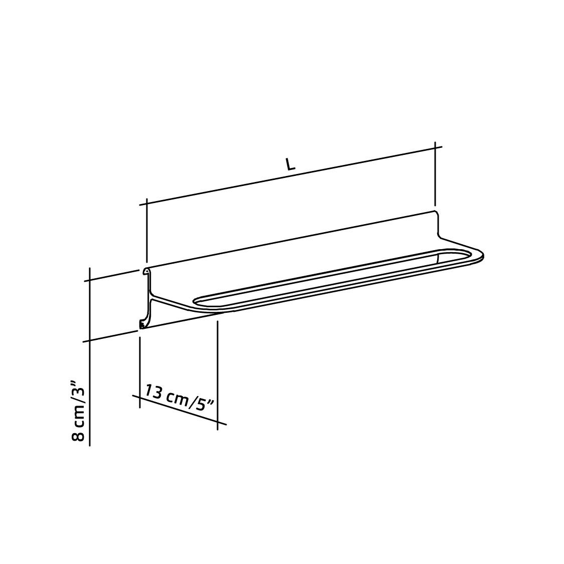 51-421-xx-towel-holders-for-horizontal-track-diagram