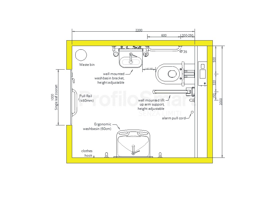 Case 1 Single Toilet Facilities A